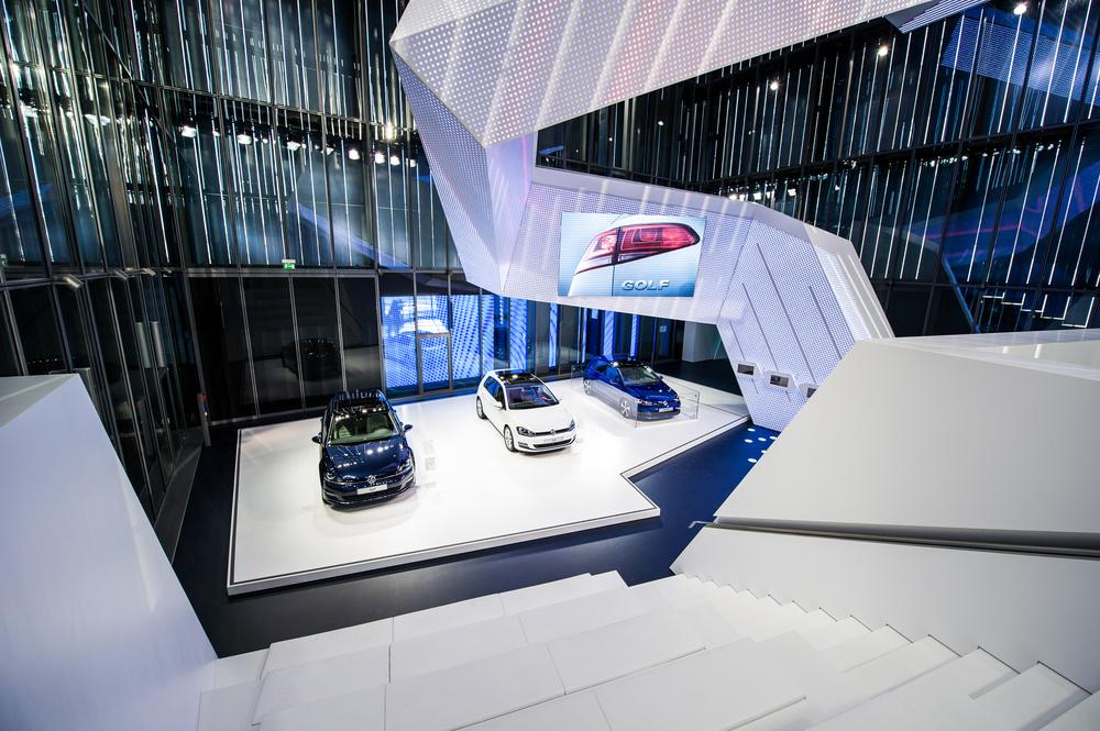 Volkswagen Pavillion - Autostadt, Germany