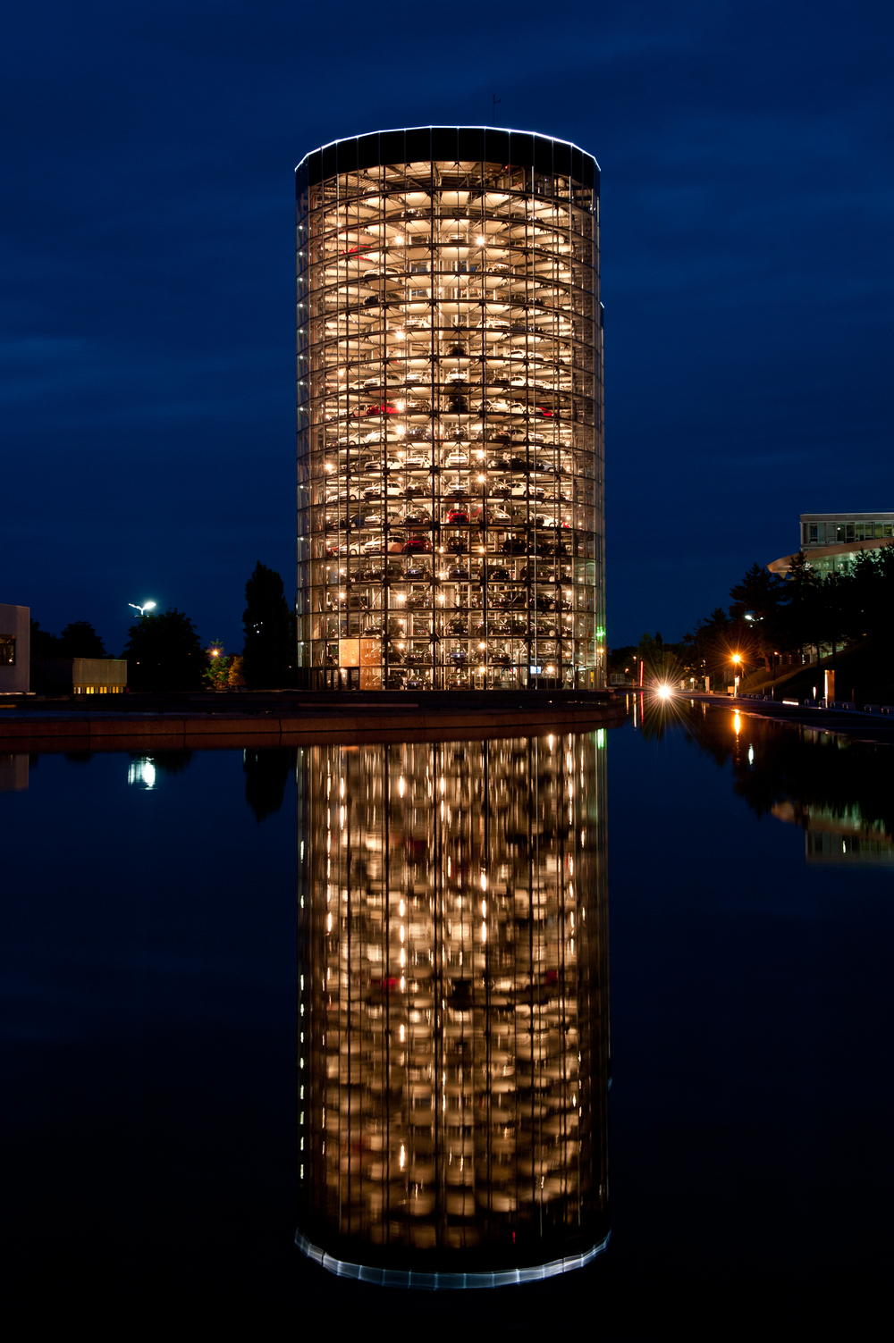 'Car Tower' - Autostadt, Germany