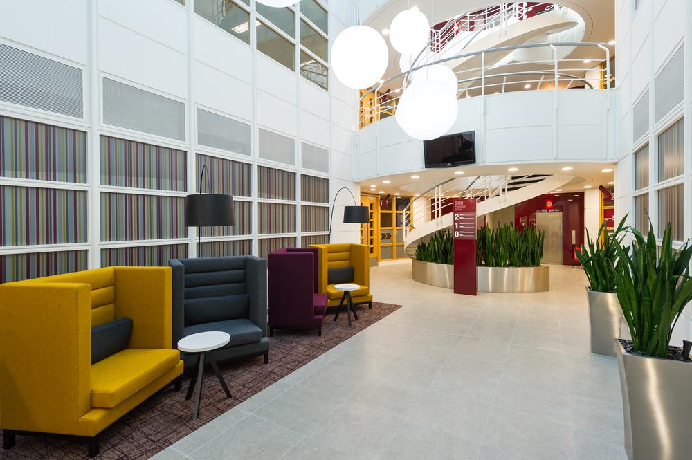Reception Area - Northampton Office Space