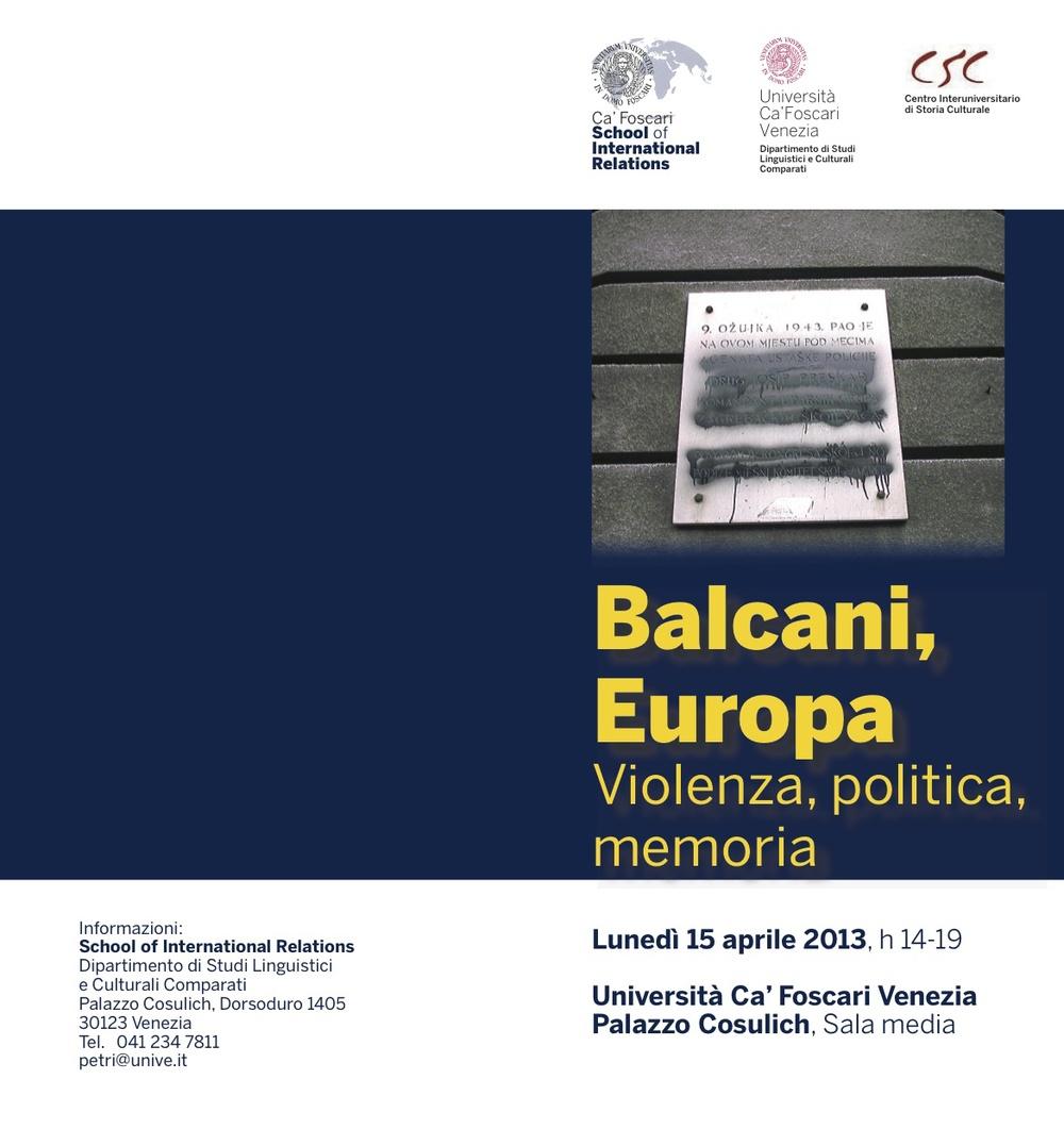 Balcani, Europa