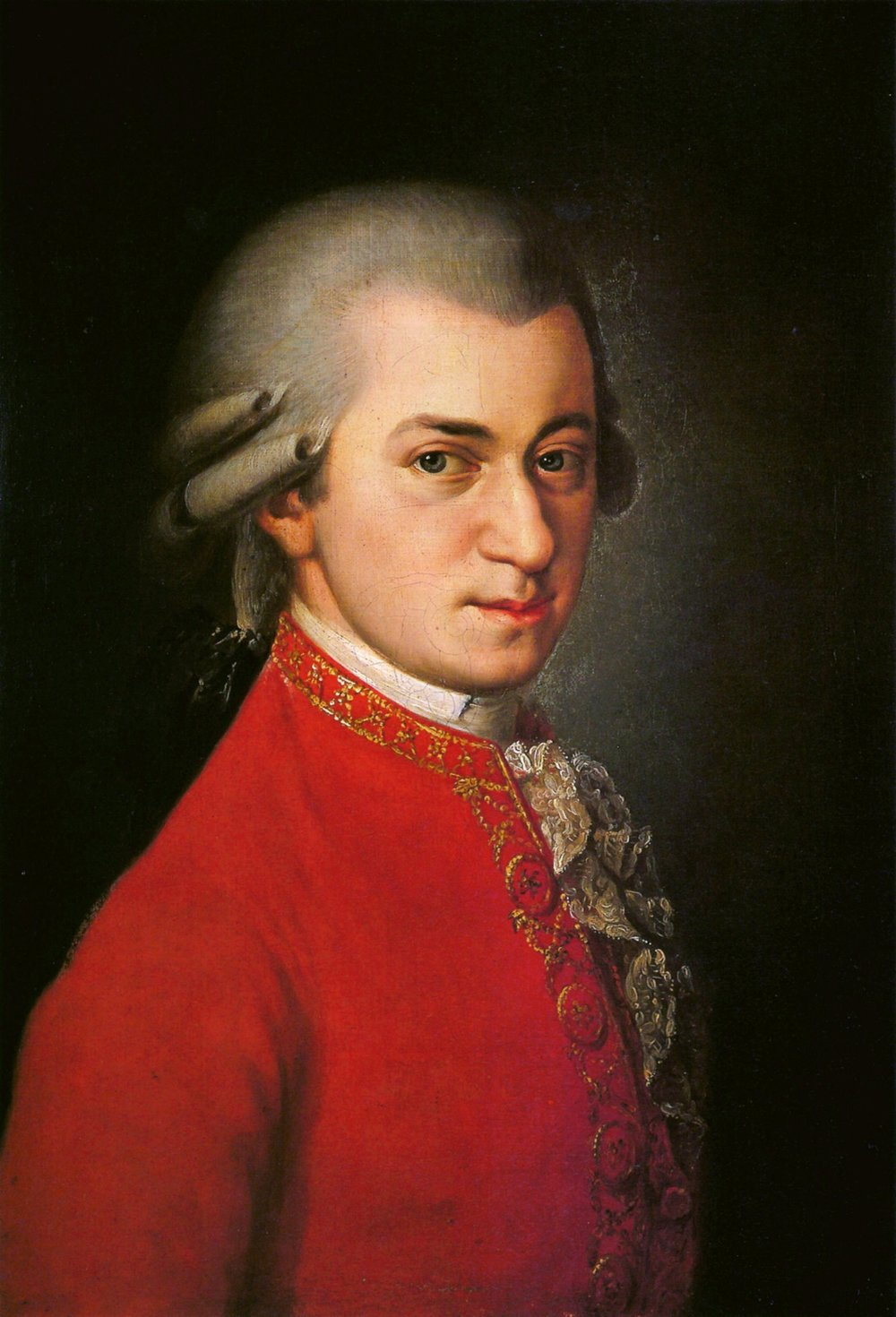 Wolfgang Amadeus Mozart.  Responsible for your higher IQ?