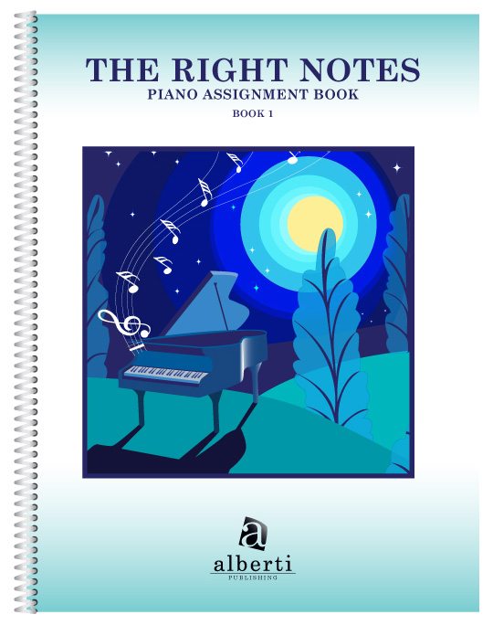 Music History for Kids Right Notes Book