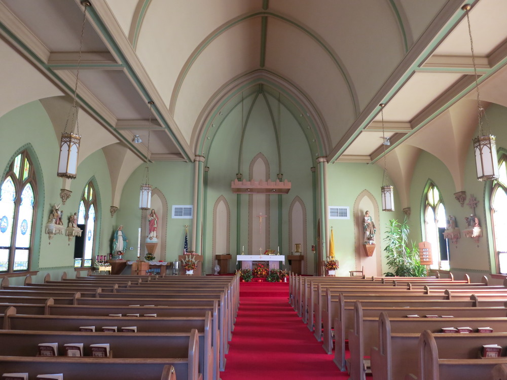 Existing Church Interior