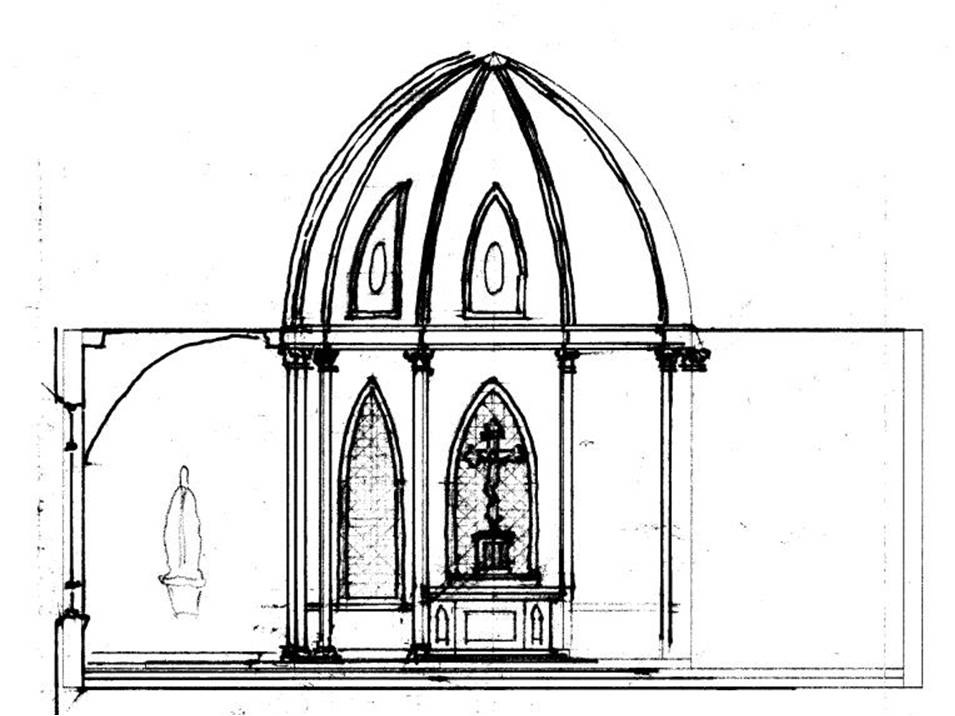 Sketch of Proposed Interior