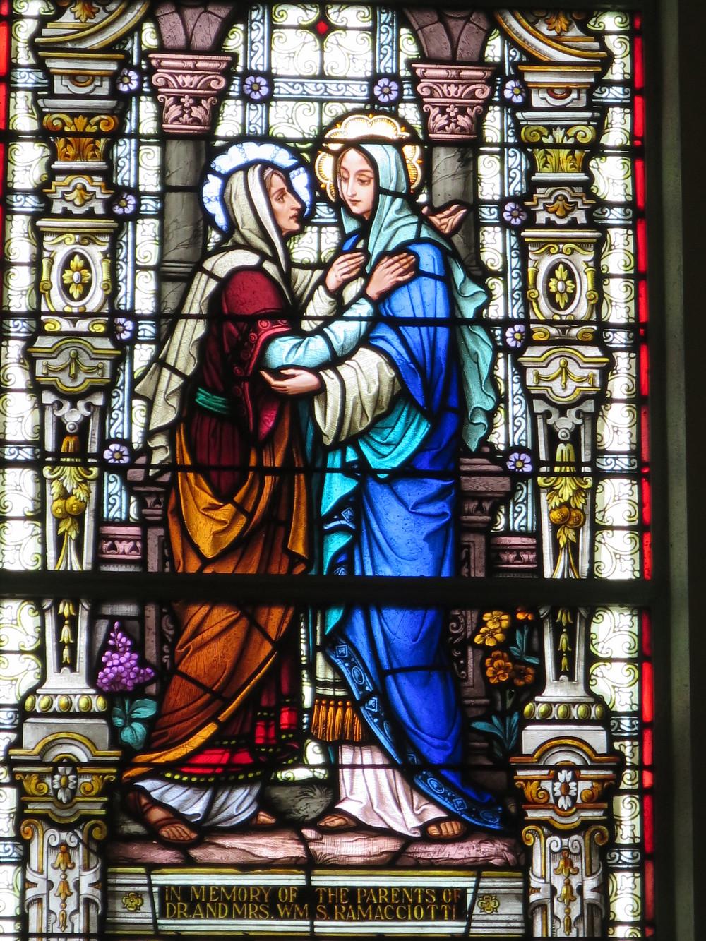 The Visitation at St. Mary's Hospital Chapel, Nebraska City, NE
