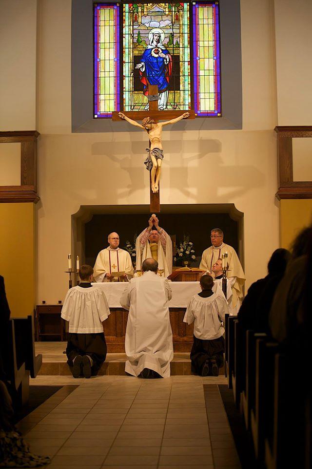 Dedication Mass with Bishop Conley