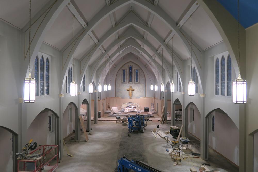 Sanctuary Paneling