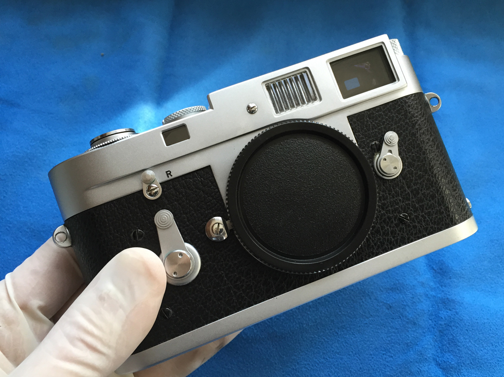 Leica M2 - The finished product.