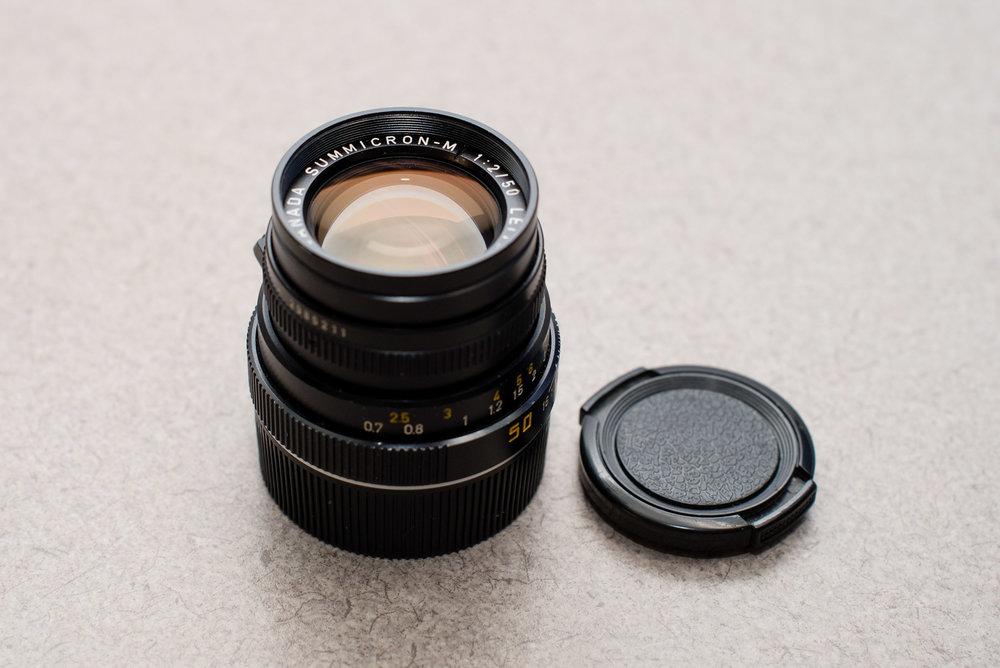 LEICA SUMMICRON-M 50mm f/2.0 v4 - $1200