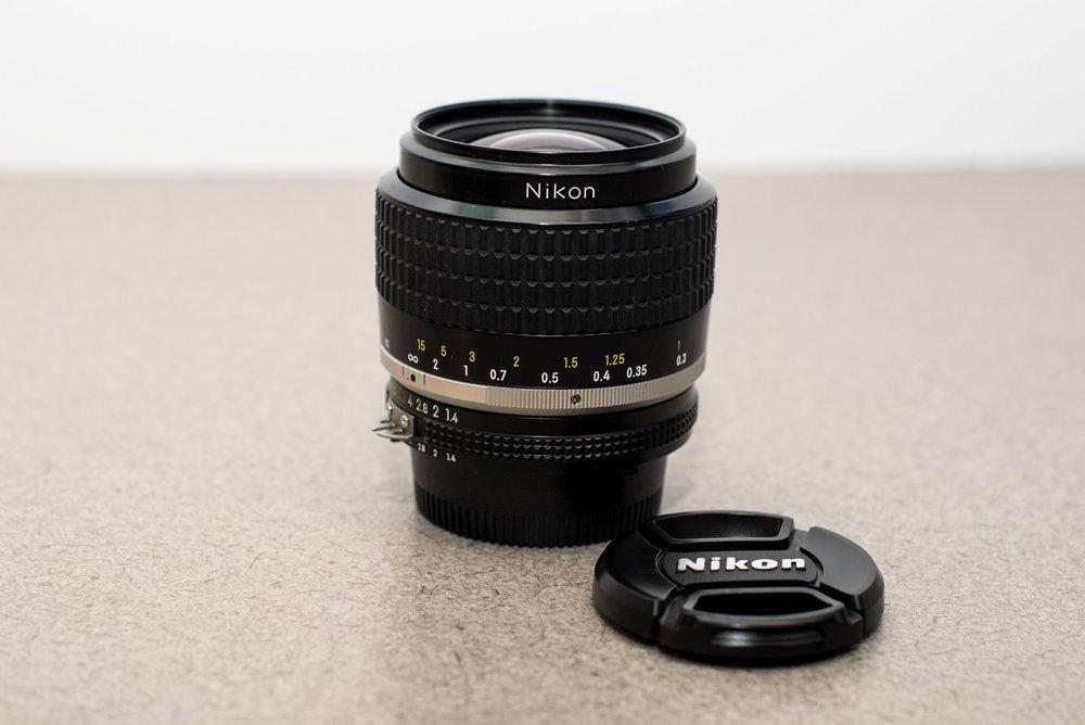 NIKON NIKKOR 35mm f/1.4 AIS - $445