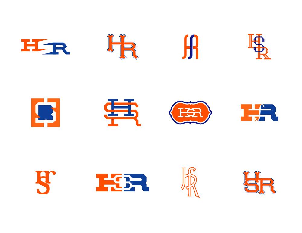 HSR Monogram - Logo Concepts