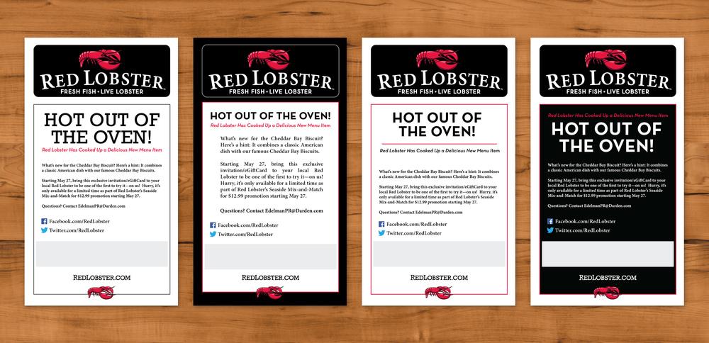 Red Lobster Invitation