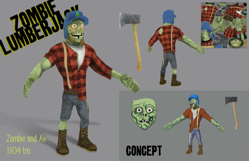 Zombie Lumberjack