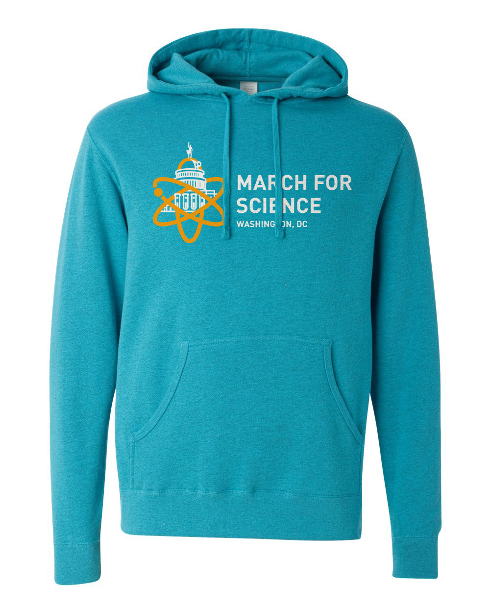 March For Science Hoodie Mockup