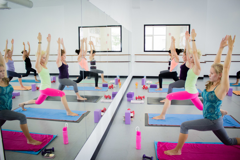 Yoga FIT in Studio 1 - Natural light room