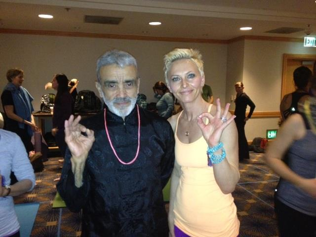 with Dharma Mittra