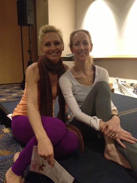 MONICA WITH ANNIE CARPENTER -  in San Fransico / ASHTANGA KINESIOLOGY SPECIALIST