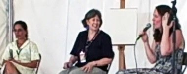 Katie Davis, Donny Seagraves, Laurel Snyder at 2009 DBF