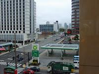 Nashville Motel Window View