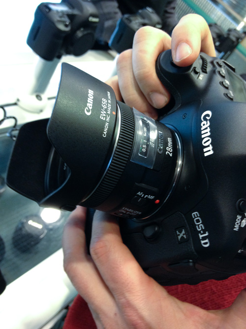 Canon EOS 1D X and EF 28 2.8 IS