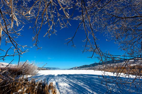 Swan Lake, Vernon, bc, canada