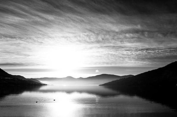 Okanagan Lake, Vernon, bc, canada