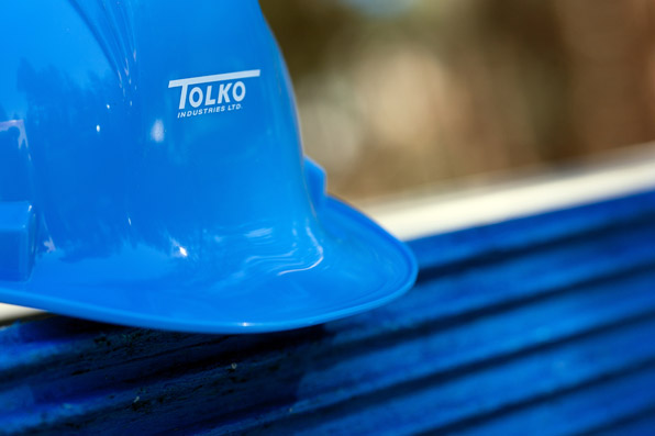 Tolko Industries Ltd. Forrestry Product, business photography, lumber, construction, habitat for humanity