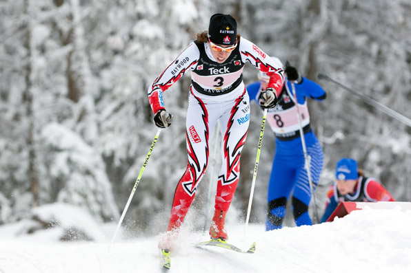 NORAM 2010, Sovereign Lake, Cross Country Skiing, Racing