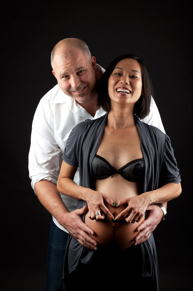 Shane & Orange, Maternity Portrait