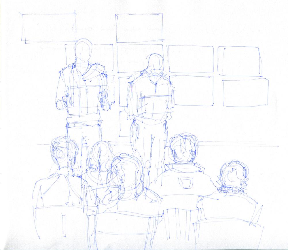 freshmen drawing class