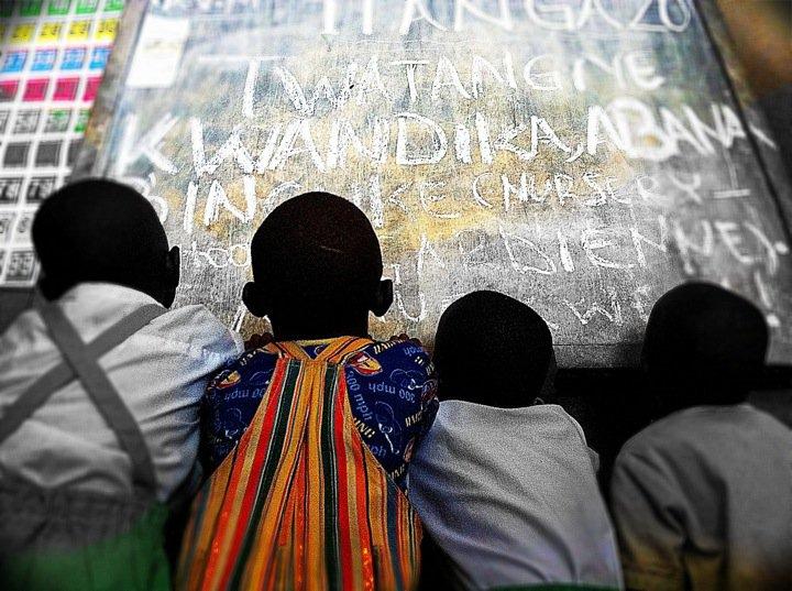 ABBA'S LOVE colors t:heir world in Rwanda...