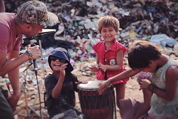 ..when GOD introduced me to ANGELS at the local trash dump!
