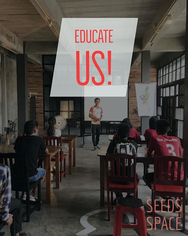 """""""Educate us!"""" You grow me, i grow you. WE learn together. 🌱  We're working on something special, stay tuned!  A dream, a hope, a future!  #Thailand #Burma #SeedsSpace"""