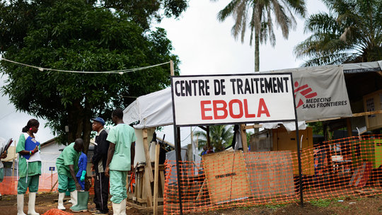 Ebola Treatment Center, Tony Cairns