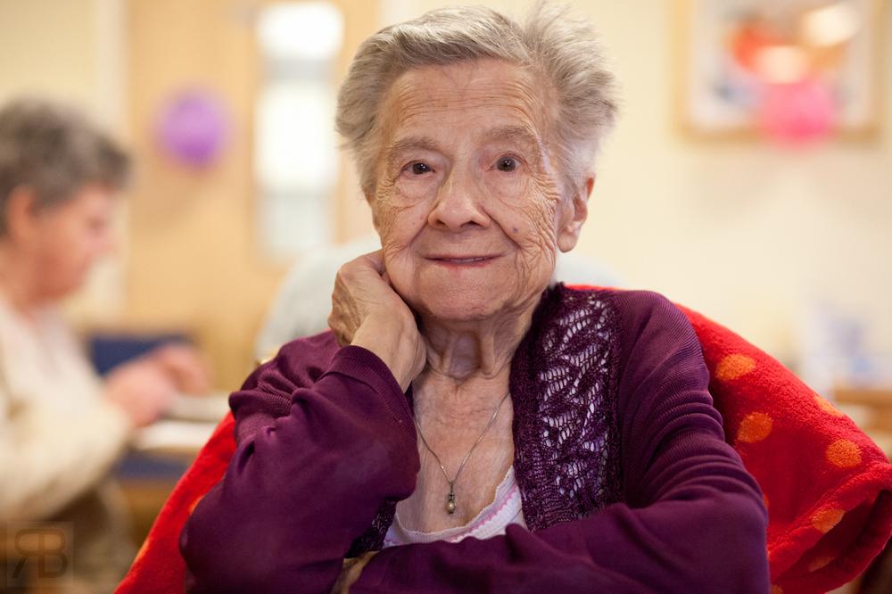 Grandmars 100th Birthday.