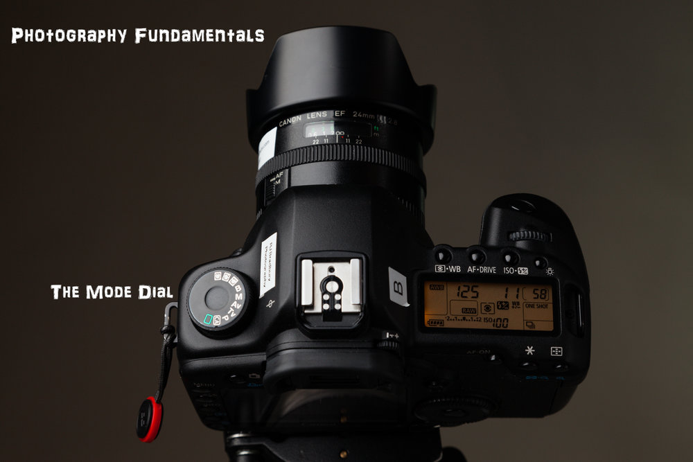 Photography Fundamentals - The Mode Dial