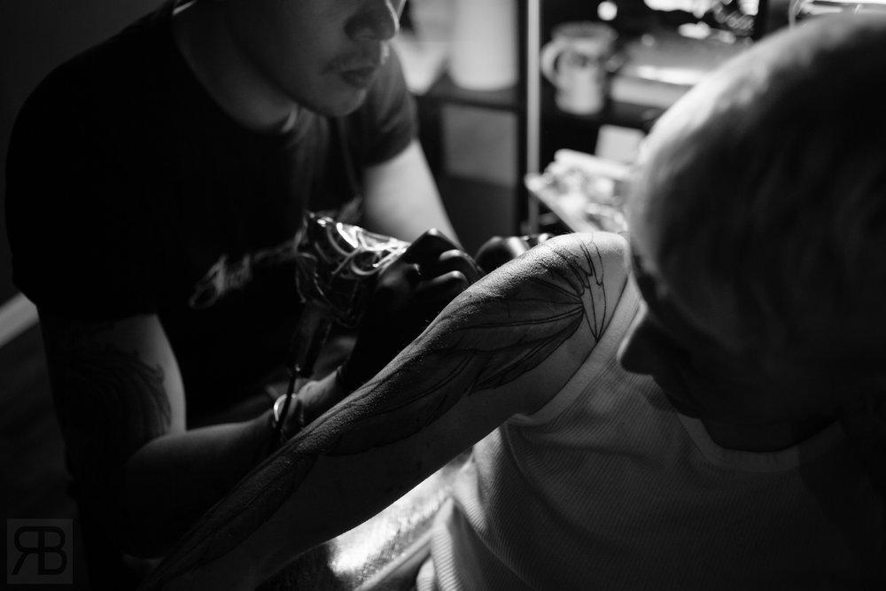 Client Work: Studio Ink Well - Tattoo Artist: David Baker