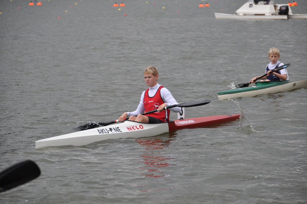 Frederik Faurschou, 4. plads 200m.