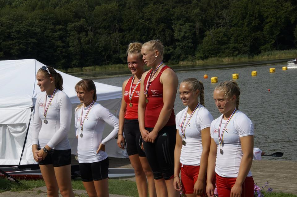 4 Silkeborgpiger på podiet!