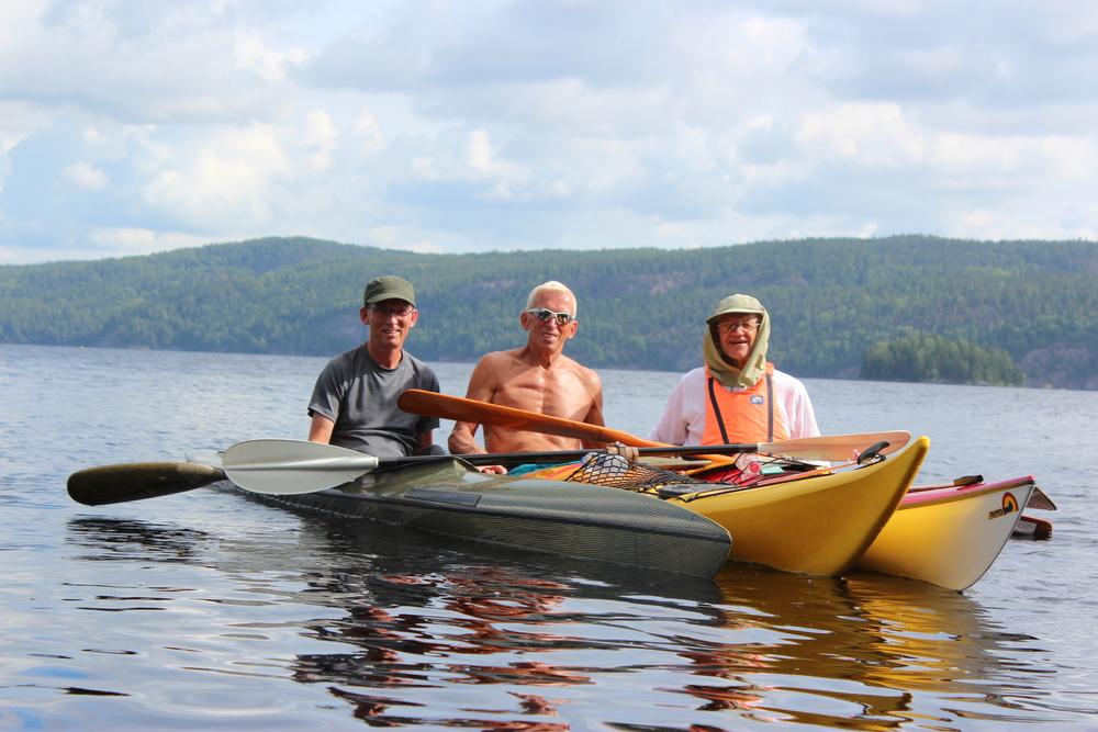 3 gutter på Lelång søen