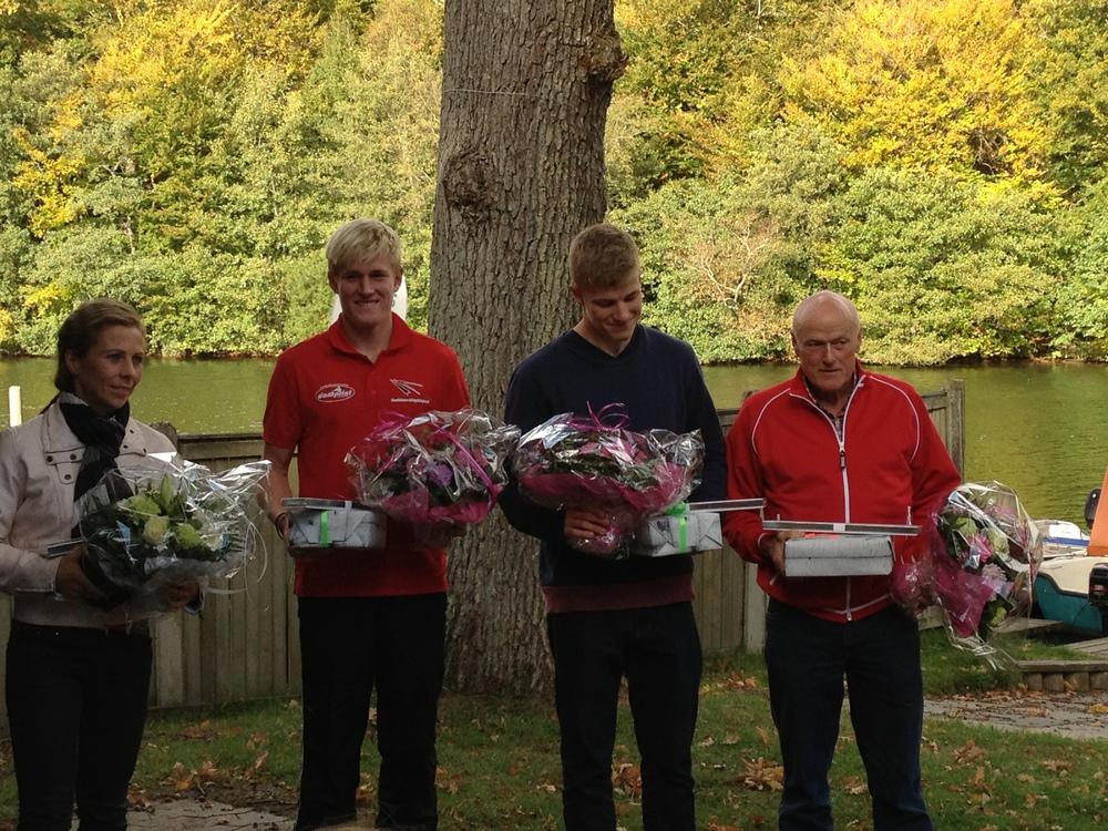 Jeanette, Casper, Morten og Svenning!