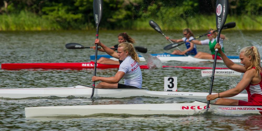 Cathrine Rask og Line Langelund var i særklasse i U16