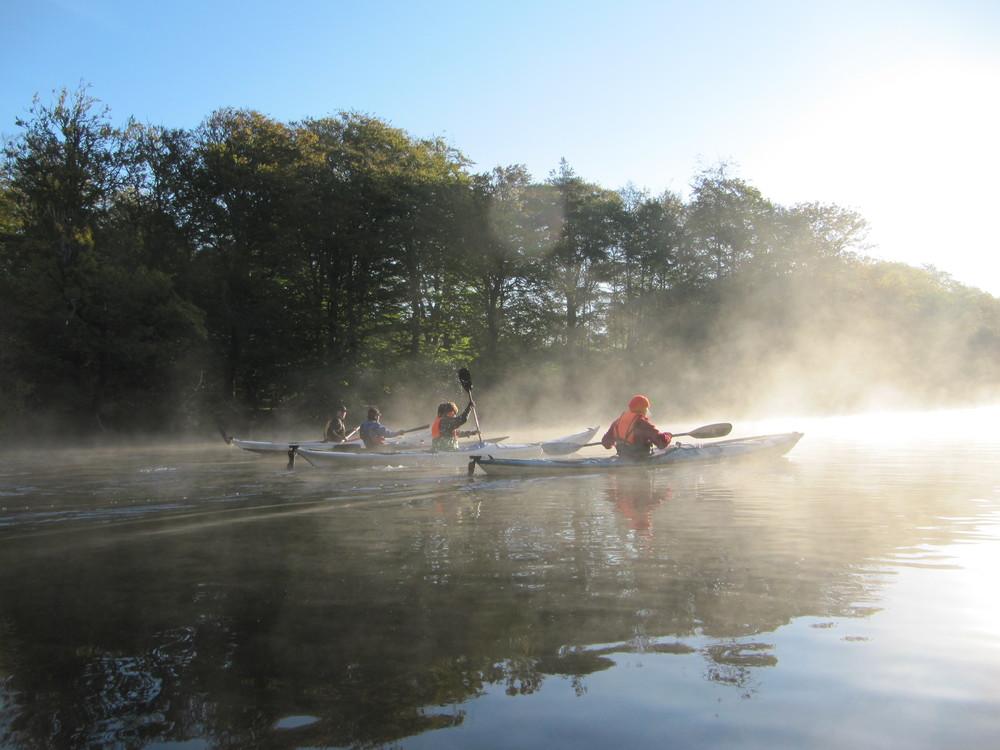 Omskoling til havkajak forår 2016