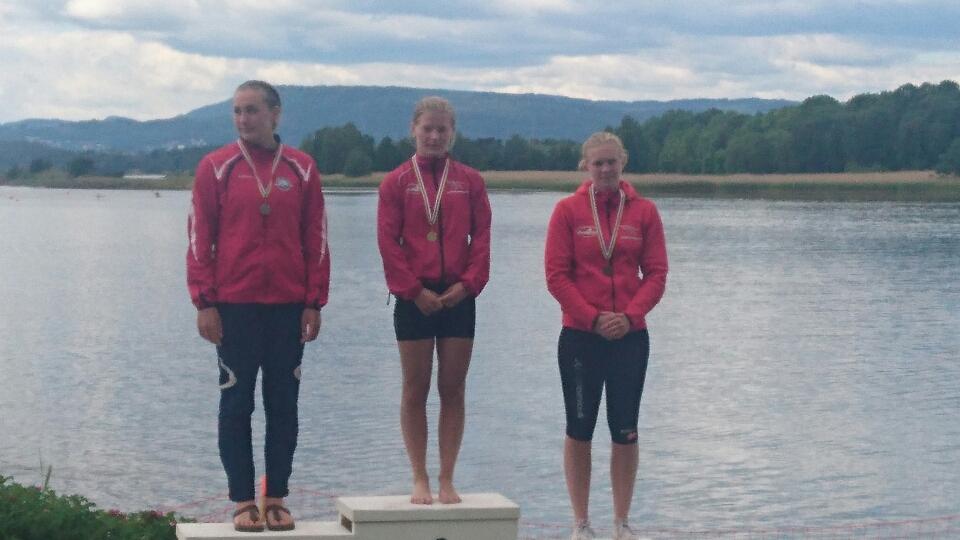 Anne-Sofie Winther vinder bronze.