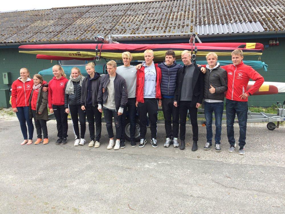 Holdet til Nordic Open Maraton 2017