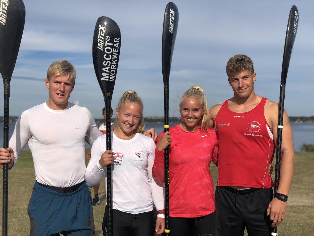 kajak silkeborg kajakklub landshold florida efterår 2018