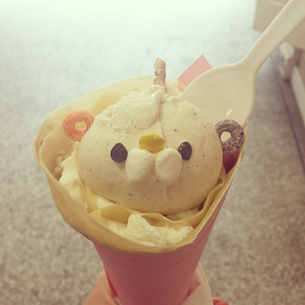 Crepe in Japantown!