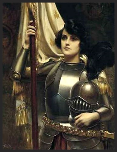 """Joan of Arc"" by Harold H. Piffard"