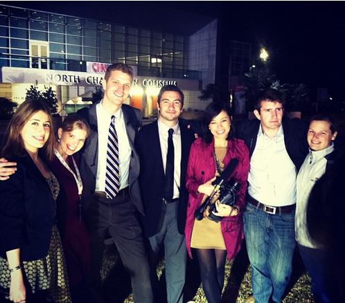 NBC team, Carrie Dann , Garrett Haake , Anthony Terrell , Jo Ling Kent , Andrew Rafferty , and Alex Moe .