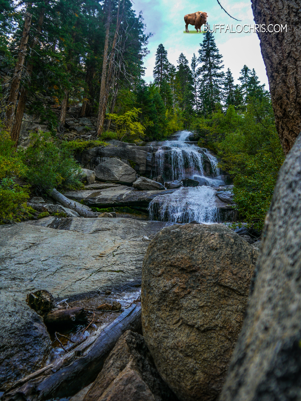 Creek up at Whitney Portal